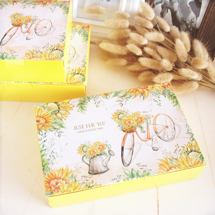 Two Sizes Mid Autumn Festival Mooncake Box Package Cookie Gift Box ...