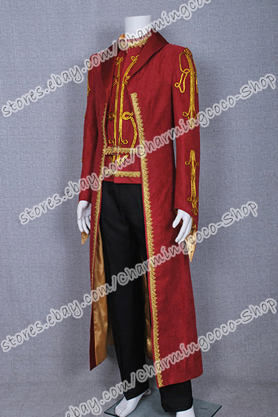 Legend Of The Seeker Cosplay Darken Rahl Costume Attractive The Long Trench Coat