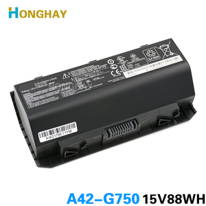 HONGHAY A42-G750 Laptop Battery for ASUS ROG G750 Series G750J G750JH G750JM G750JS G750JW G750JX G750JZ 15V 88WH