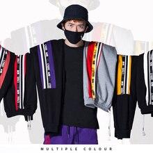 2019 autumn and winter new men's harem pants tide hip-hop color loose cotton sports men's trousers a wholesale