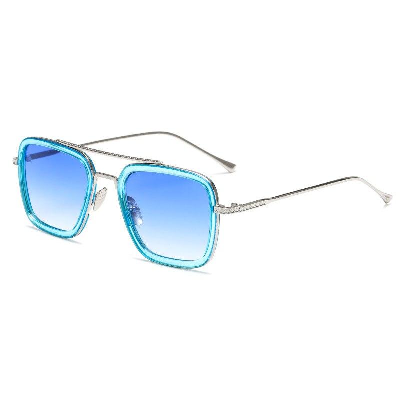 Brand Design Square Frame Sunglasses Women Men Vintage Sun Glasses UV400 Fashion Shades Eyewear Oculos De Sol
