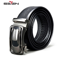 Seven7 Brand Belts High Quality Leather Automatic Buckle Belts For Men S Belts Men Genuine Luxury