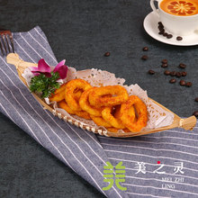 Simulation Food Model Handicraft Artificial Props Simulation Squid Ring Model Western Snack Food Model Table Ornaments Display