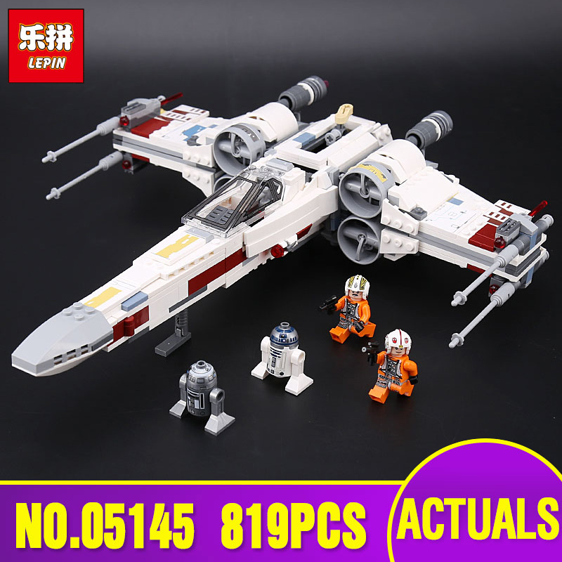 Lepin 05145 Star Series The Wars Legoinglys 75218 X-wing Fighter Building Blocks Bricks Toys children Christmas Birthday Gifts new 1685pcs lepin 05036 1685pcs star series tie building fighter educational blocks bricks toys compatible with 75095 wars