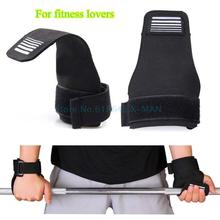 Fitness WeightLifting Gloves Grip Palm Protector Strap Weigh