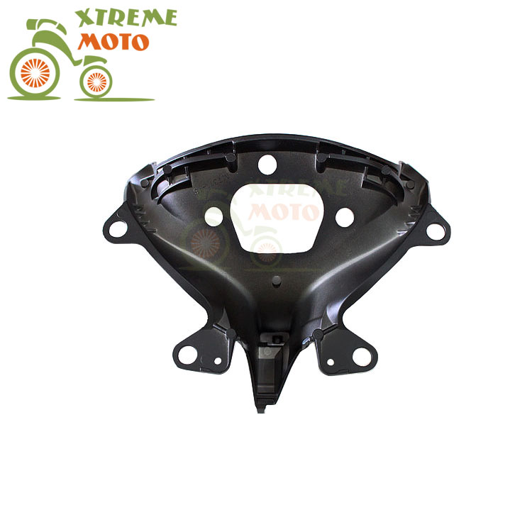 Aluminum Black Motorcycle Front Upper Fairing Bracket Stay Racer Light For YAMAHA YZF R6 2003-2005 2003 2004 2005 03 04 05 motorcycle part front rear brake disc rotor for yamaha yzf r6 2003 2004 2005 yzfr6 03 04 05 black color