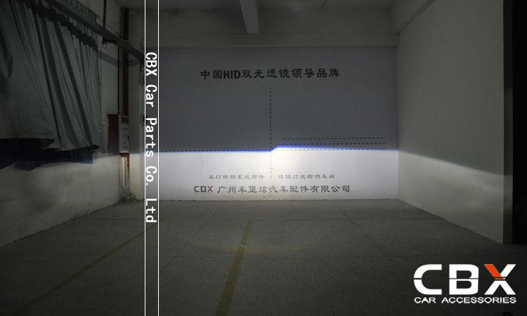 3.0 WST Bi Xenon Lensa Proyektor Jenis Perak Mengkilap Menggunakan - Lampu mobil - Foto 5