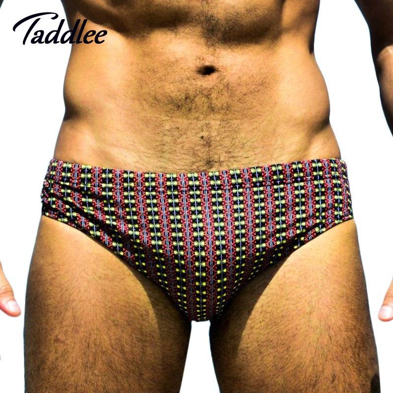 Buy Taddlee Brand New Men Swim Briefs Bikini Swimwear Mens Swimsuits Swimming Boxer Shorts Trunks Surf Boardshorts Gay Low Waist