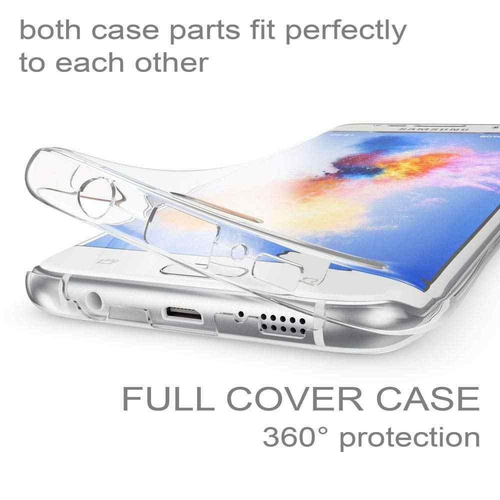 SUYACS 360 Volle Körper Schutz Telefon Fall Für Samsung Galaxy S10 Plus S10e A30 A40 A50 M30 M40 Weiche TPU zurück Abdeckung Shell Geschenke