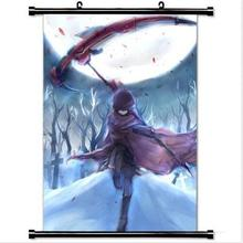 Decor Trendy Handsome Anime Poster  Art Cosplay with Ruby Rose Rwby Home Decoration Japanese cartoon
