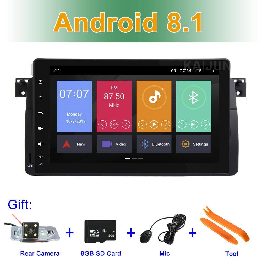 9 Android 8.1 DVD de Voiture Stéréo Radio pour BMW 3 Série E46 M3 Rover 75 mg ZT avec BT WIFI GPS