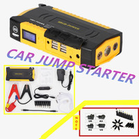 High Quality 12V Portable Mini Jump Starter 16000mAh Car Jumper Booster Power Bank For Petrol And