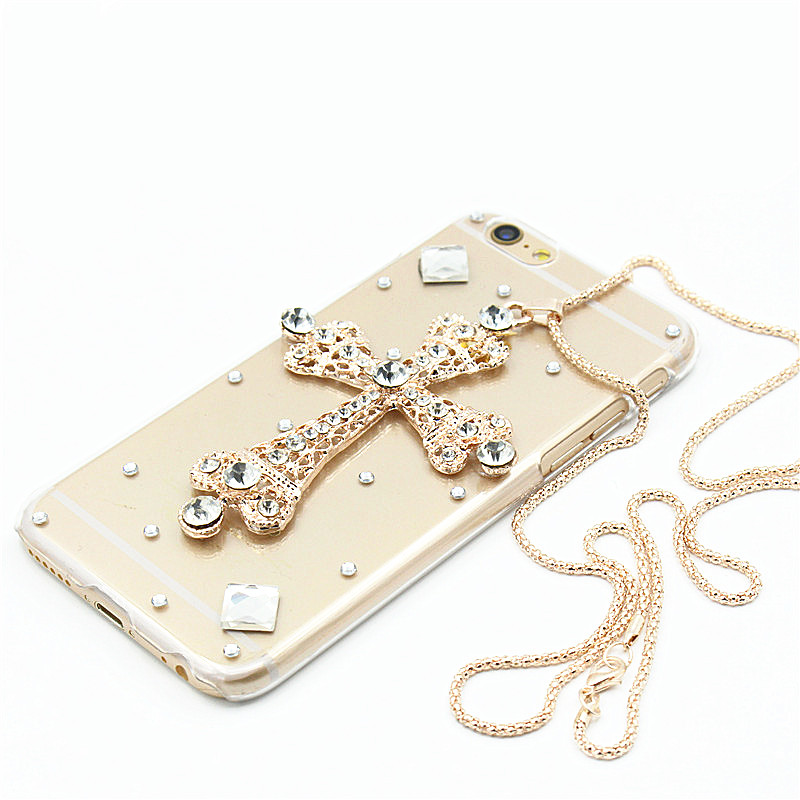 Phone cases For Samsung Galaxy Note 7 Case 3D luxury Glitter Bling Rhinestone Hard PC plastic Back Case For Samsung note 7 Cover