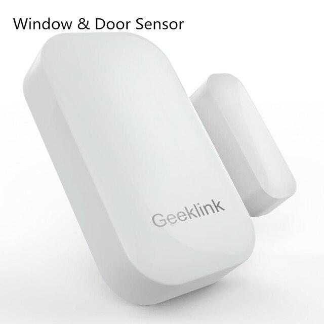 Geeklink Датчик Двери, Двусторонней Обратной Связи Датчика Детектора Wi-Fi Пульт Дистанционного Управления в Режиме реального времени Обратной Связи, чтобы Geeklink Мыслитель умный Дом