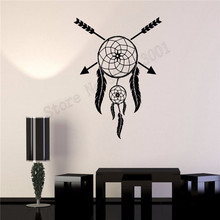 Wall Sticker Ethnic Modern Style Room Decor Vinyl Art Removeable Decoration Beauty Dreamcatcher Mural Fashion Poster LY602