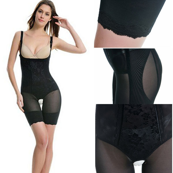 2f0417d912d Best Bodysuit Corset Black Women Shapewear Slimming Seamless Body Shapers  Underwear Bodyshaper Fit Lingerie 819 Sale CL0739-E