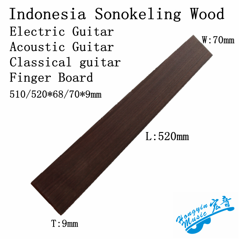Guitar Parts & Accessories Musical Instruments Responsible Rosewood 20 Frets Acoustic Guitar Fretboard Fingerboard Replacement Part Discounts Sale