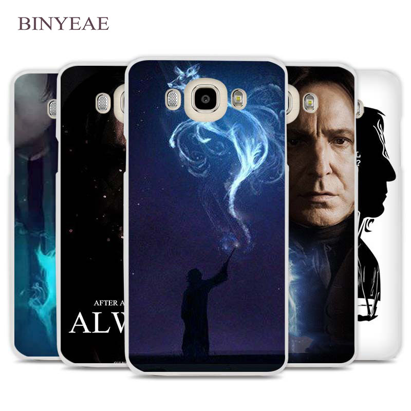 BINYEAE severus snape harry potter Cell Phone Case Cover for Samsung Galaxy J1 J2 J3 J5 J7 C5 C7