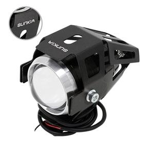 2 teile/los SUNKIA High Power 125 watt Motorrad Projektor Scheinwerfer U5 3 Modi 3000LM Motorrad Kopf Nebel Lampe Freies Verschiffen