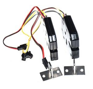 Image 4 - 5 pcs con feedback serratura Elettronica della porta di chiusura 12 V/2A per cabinet serrature/solenoide serrature/cassetto (connettore opzionale)