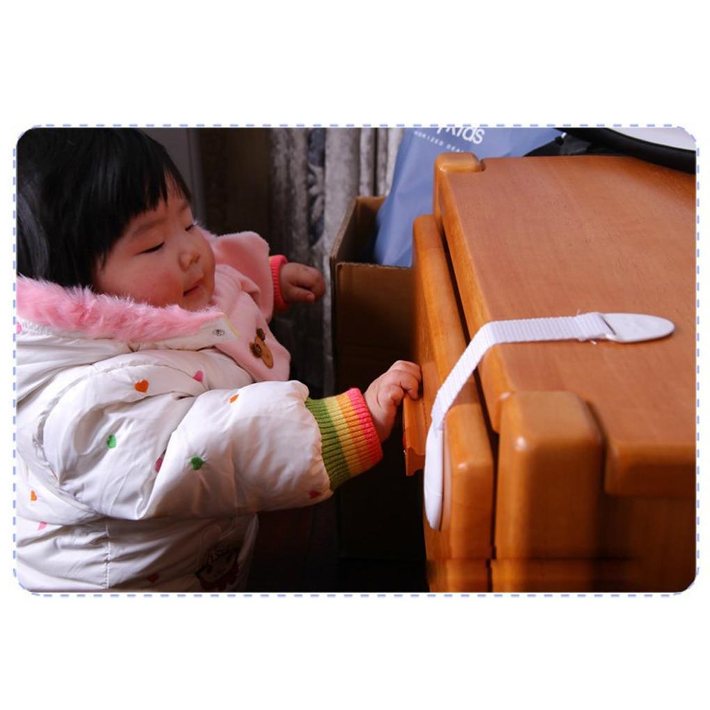 Cerraduras de seguridad para cajón de puerta de bebé Habwred, seguro para los dedos, Protector de seguridad para niños, pestillo de puerta de armario