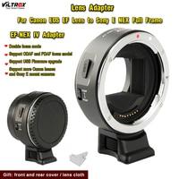 For Canon Sony Lens Viltrox EF NEX IV Lens Adapter for Canon EOS EF Lens to Sony E NEX Full Frame AII7 A7RII Lens converter
