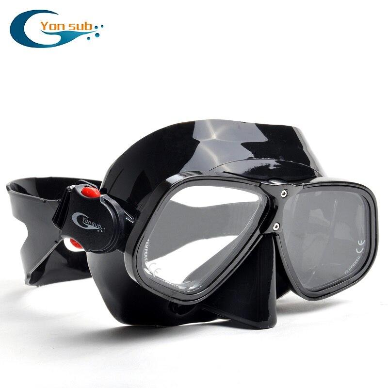 Profesionali nardymo kaukė Nustatyti magnio ir aliuminio lydinių - Vandens sportas - Nuotrauka 4