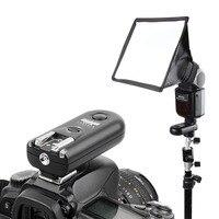 Камера Беспроводной вспышка триггера приемопередатчик для Canon 6D 7D 5DII 5D Mark III IV 700D 750d 80d для Nikon D5500 d600 D800 DSLR
