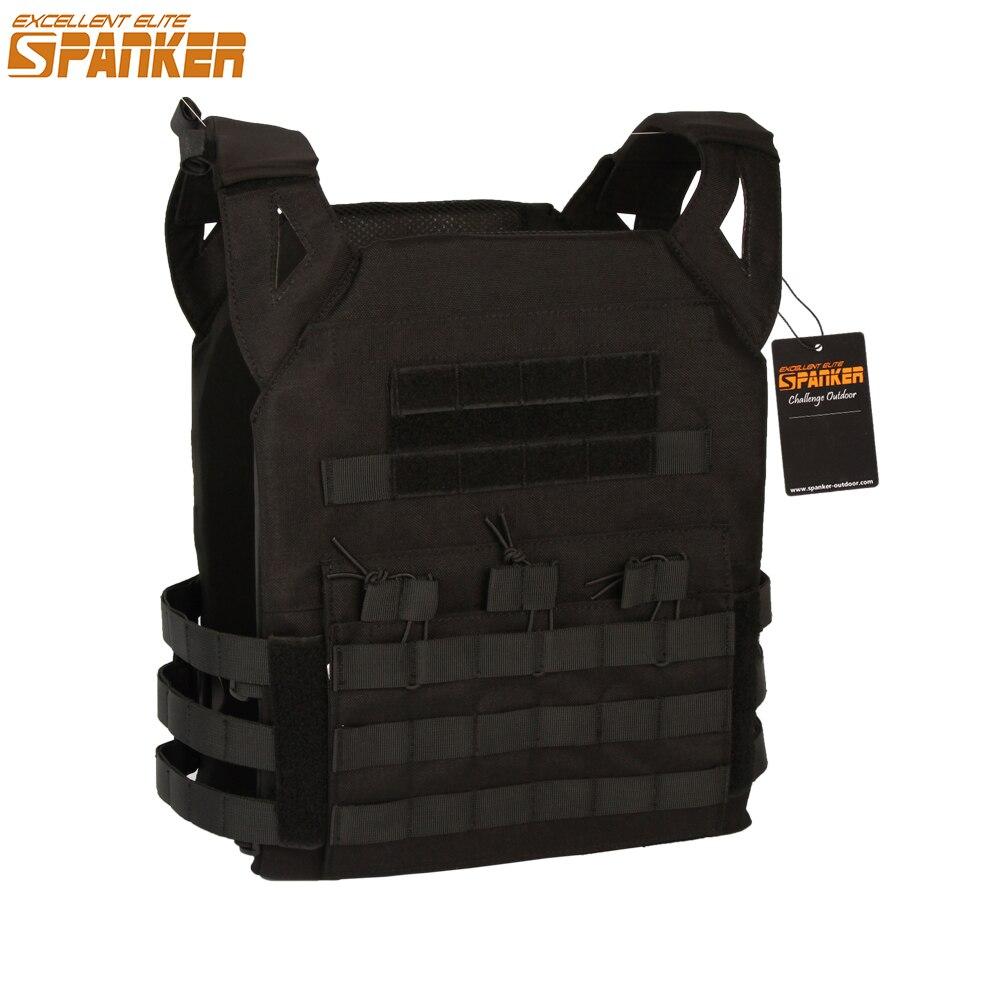 EXCELLENT ELITE SPANKER Outdoor Tactical Molle JPC Vest Cloth Military Nylon JPC Jacket Series Equipment CS Vest Large Version