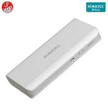 Original Romoss 10400mAh Power Bank  Sense4 Romoss PowerBank for iPhone7 Tablet PC Portable Power 5V 1A/2.1A Dual USB Output