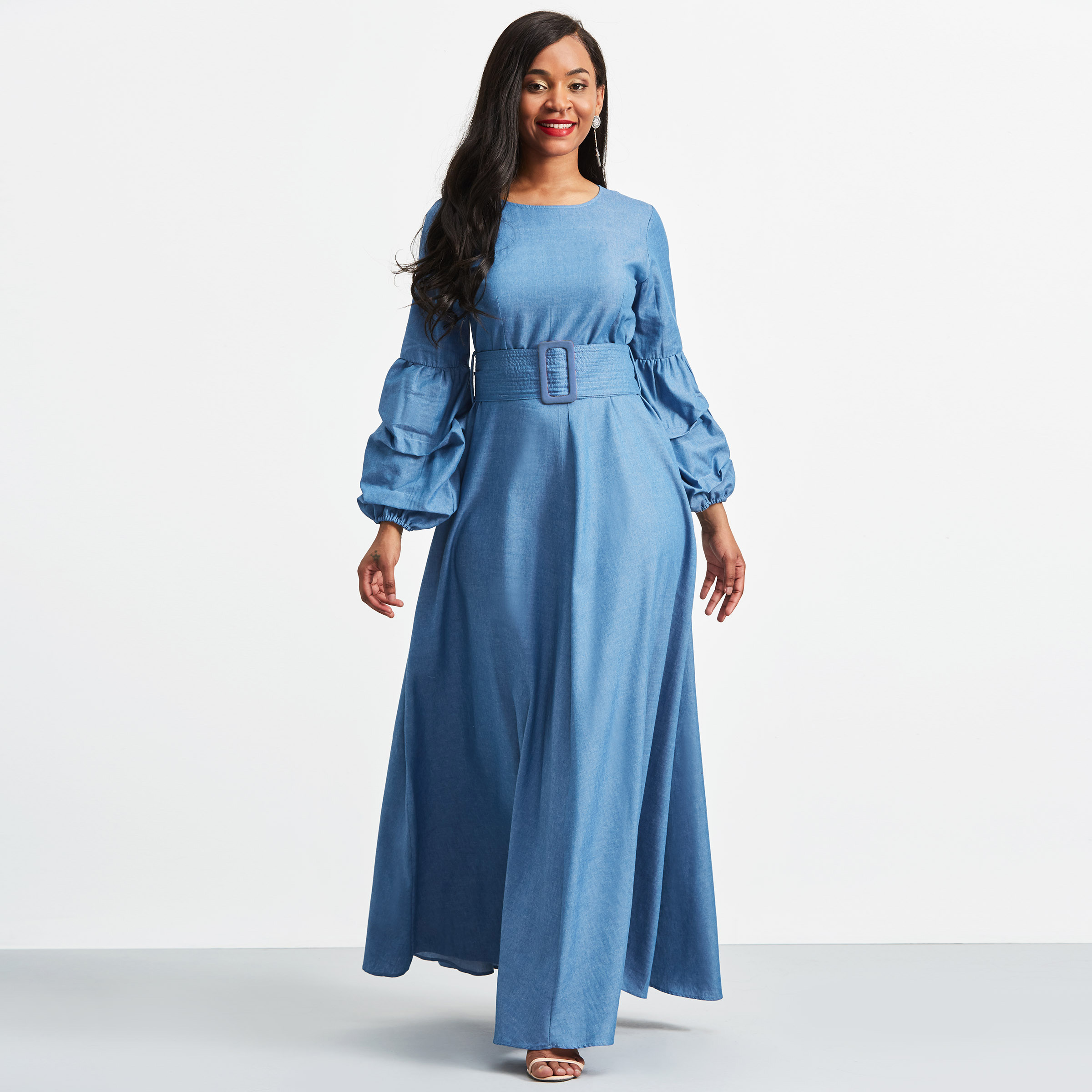 Aliexpress.com : Buy Women long Dresses Winter Autumn Long Sleeve ...