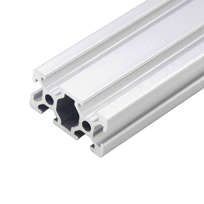 1PC 2040 European Standard Industrial Aluminum Profile 100-800mm Length Linear Rail For DIY 3D Printer CNC