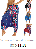Women Men Pants Casual Woman High Waist Wide Leg Harem Trousers Baggy Boho Loose Aladdin Festival Hippy Jumpsuit Print Lady pant 15