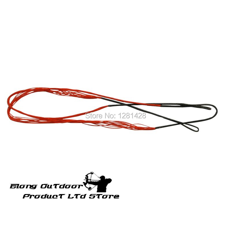 New 1PCS 56 5 Bow String For Recurve Long Bow For Outdoor Archery font b Shooting