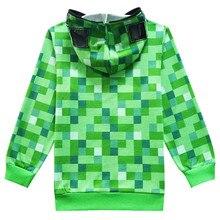 MINECRAFT 100% bavlna zelená Mikina & Tričko 100% cotton T-shirt & Hoodie