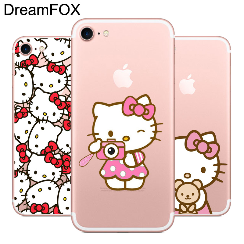 b2646490e Hello Kitty L534 Cover For Apple iPhone XR XS Max 8X7 6 6 S Plus 5 5S SE 5C 4  4S