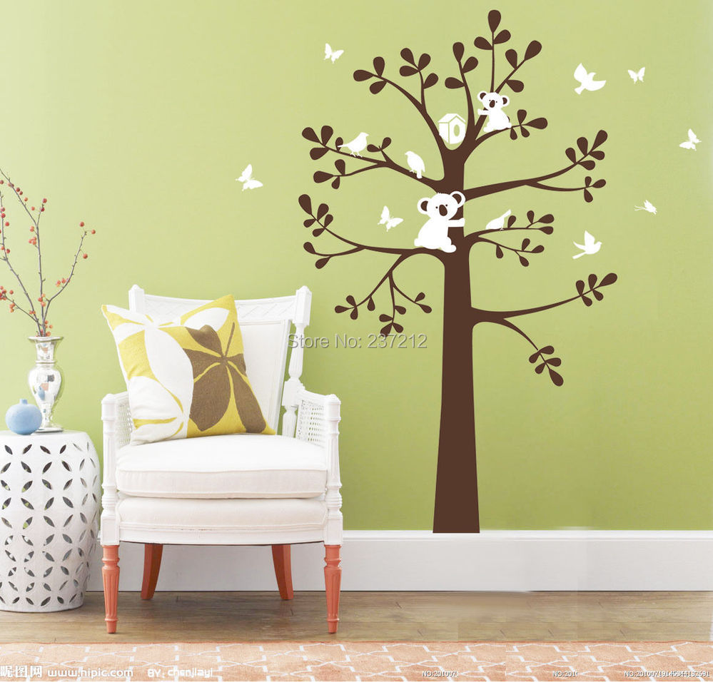 Enchanting Vinyl Tree Wall Art Images - The Wall Art Decorations ...