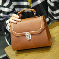 vintage casual Handbag High Quality Women Messenger Bags Brown Crossbody Bags for Women PU Leather Luxury Shoulder Bag Designer
