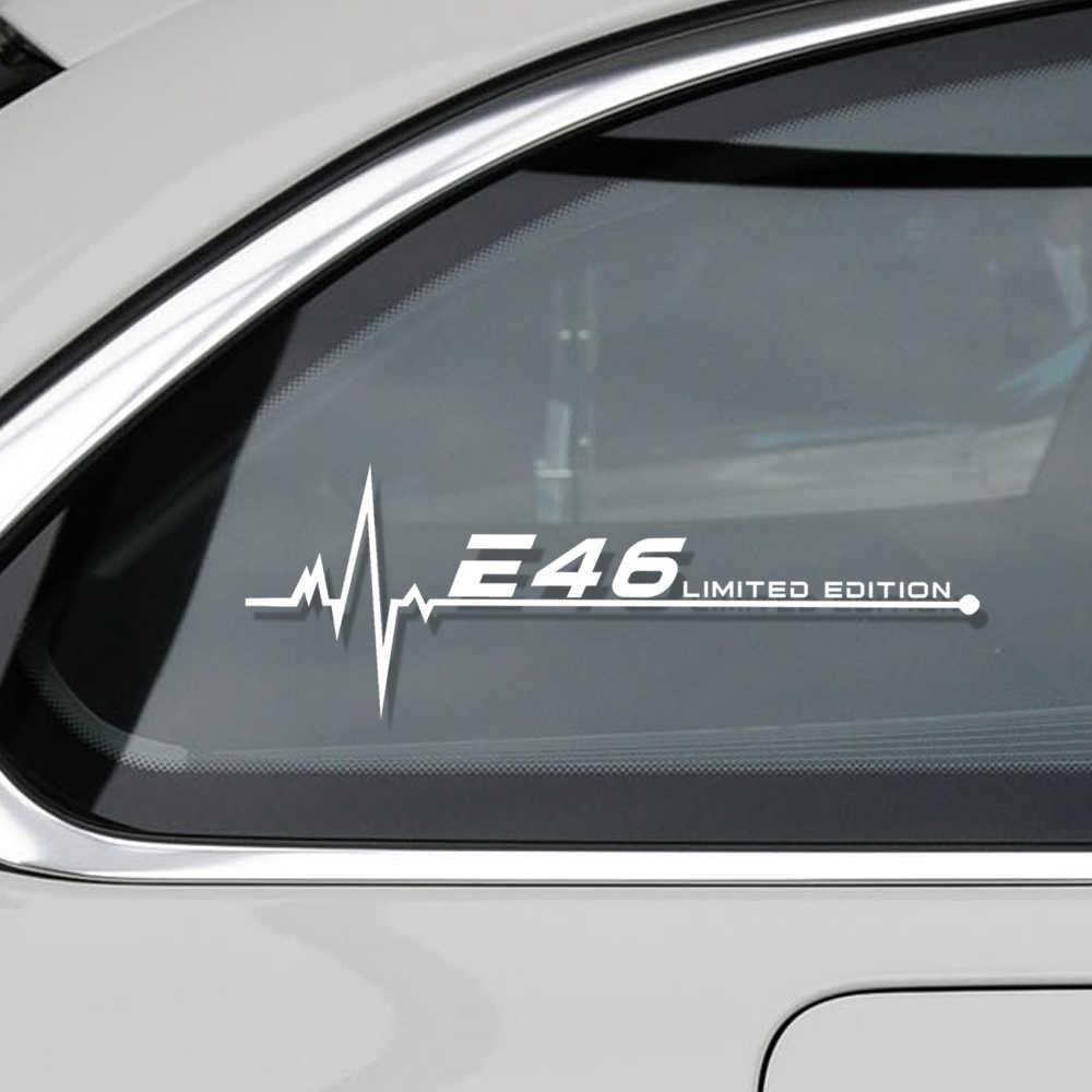 Mobil Styling Reflektif Jendela Mobil Stiker untuk BMW E28 E30 E34 E36 E39 E46 E60 E61 E62 E90 E91 e92 E53 E70 E87 Aksesoris