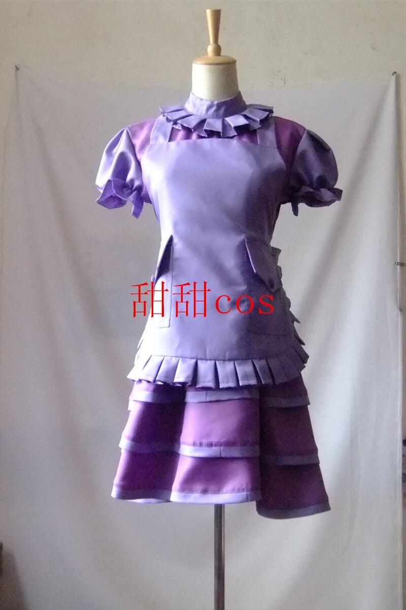 2016 Cos LOL Ira Fae sorcière Lulu Cosplay Costume ensemble de vêtements sorcière femme Sexy robe