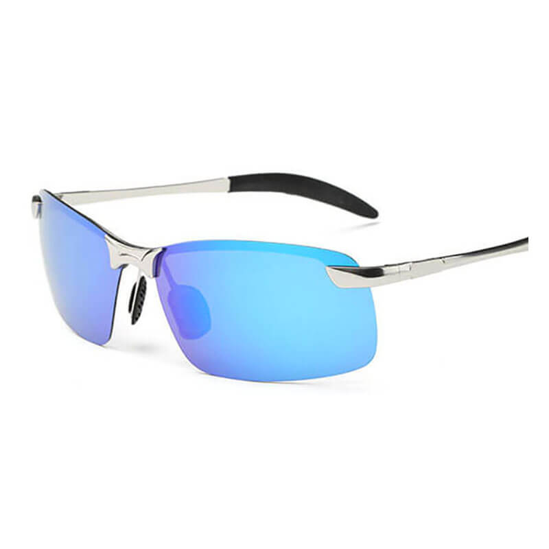 Considerate Brand Designer Classic Polarized Rimless Sunglasses Men Women Yellow Night Driving Square Sun Glasses Male Goggle Aaby01 Men's Sunglasses