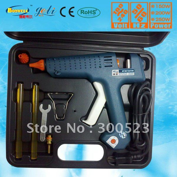 Tool bag:EU Plug 150 watt Temperature adjustment Hot melt glue gun, 1 pcs/lot, free shipping hot melt glue gun 250 watt adjustable thermostats us plug 100 240v plus 5 transparent glue stick free shipping 1 pcs lot
