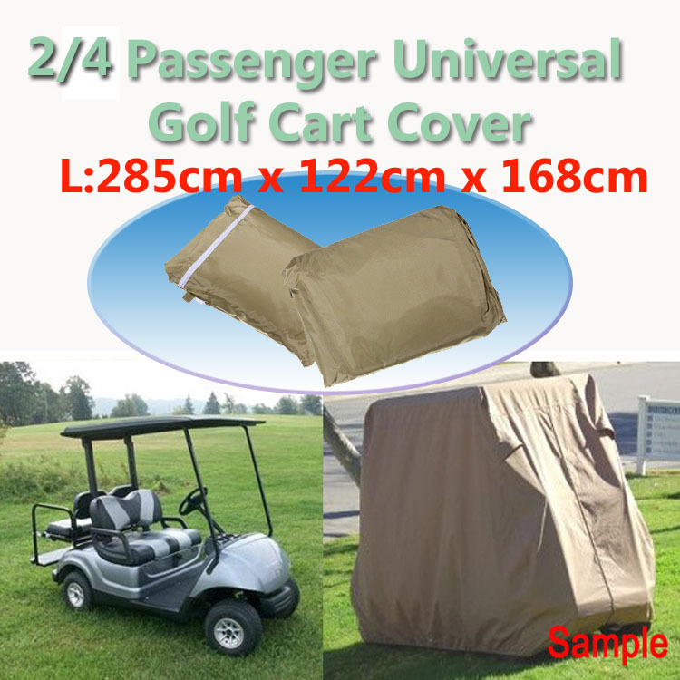 2015 High Quality New Brand Large Waterproof Outdoor UV Protector Car Cover Rain Dust Golf Cart Cover Car Cover Duty Cover