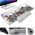 Durable Rectangle Mouse Mat for Festival Gift Overwatch Feature Characters Loptop Computer Keyboard Gamer Pad