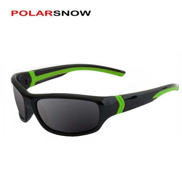 6b9c137c0 POLARSNOW Polarized Sunglasses Kids Boys Girls Sport Children Sun Glasses  Baby Eyeglasses Oculos De Sol