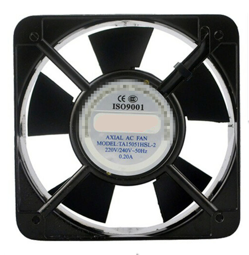 AC Axial Fan Copper Coil TA15051 Industrial Welder Cooling Fan 110V 220V 380V Brushless fan ball axial fan jd12038ac 220v 0 14a 12cm cooling fan