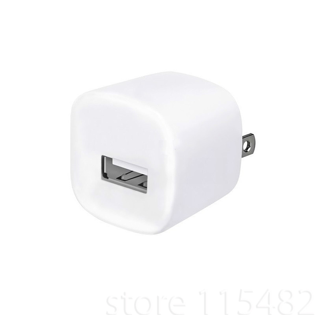 10pcs/lot US/EU  Plug cube USB Travel AC Power Wall charger Adapter Charger For iPod For Iphone 5 5S 6plus 6 6S 7 7plus