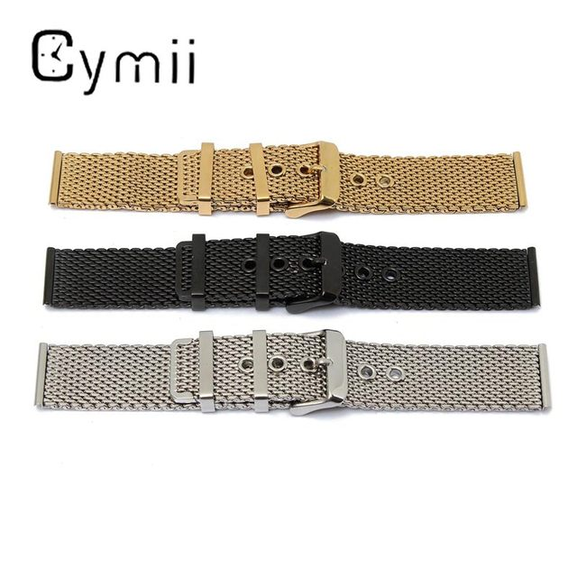 1 ST Hot Koop 22mm Rvs Horlogebanden Mesh Gesp Straight End Mannen Polshorloge Metalen Horloge Armbanden reparatie Tool