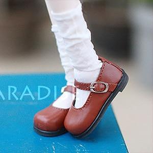 Image 2 - Bybrana 1/4 1/6 BJD.SD.DD.BB.YOSD chaussures de poupée plat avec de petites chaussures multicolores spéciaux