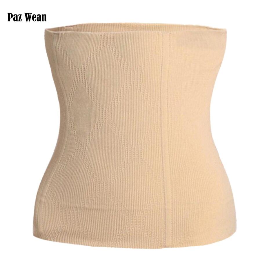 Corsé de cintura para adelgazar abdomen cinturón cuerpo Shaper Control ropa interior faja fajas vientre Cincher de Trimmer para las mujeres